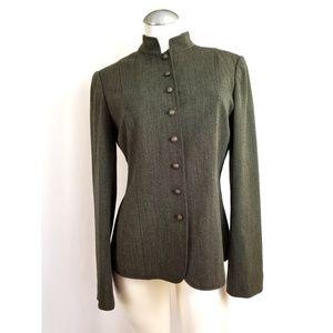 John Meyer of Norwich Size 10 Blazer Green